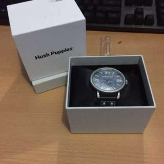 Hush Puppies Watches Silver Blue 385M 2503