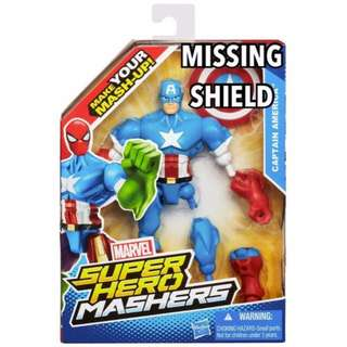 Marvel Super Hero Mashers Captain America Legends