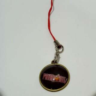 Fairy Tail black Logo keychain