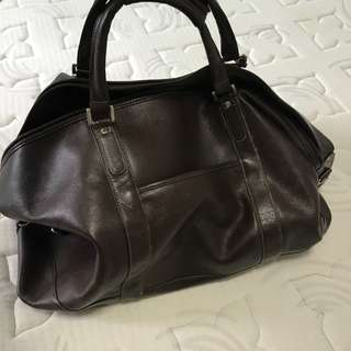 Leather duffel bag for sale