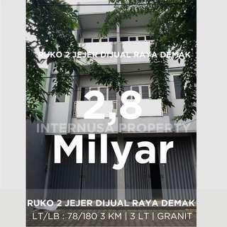 Ruko Raya Demak Surabaya