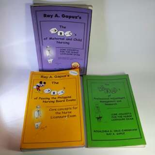 The ABC's Books of Nursing by RAY A. GAPUZ'S (Take All)