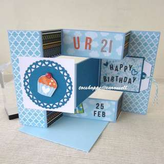 Birthday Display Card