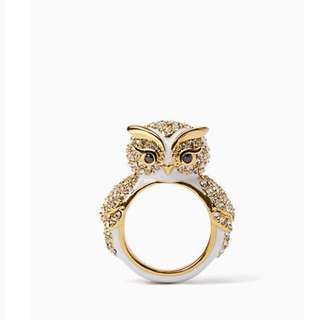 SALE Kate Spade Star Bright Owl Ring Size 5 6 7