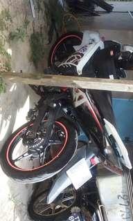 Sticker rim moto
