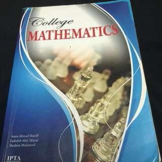 Mathematic Textbook for Asasi/Matrik/STPM