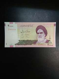 Iran 2000 Rials 2005-2013 issue