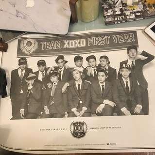 官方 sm EXO 12人poster