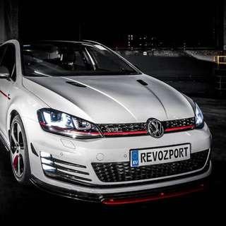 VW Golf MK7 GTI Razor7 Carbon Fiber Acc