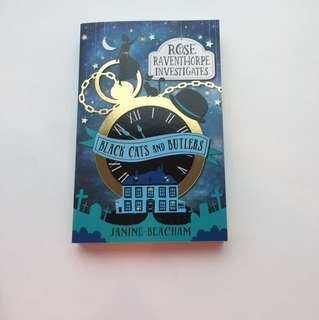 Books(black cats and Butler's)(paperback)