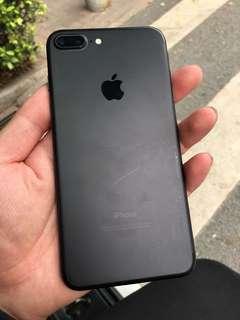 Iphone7 plus 128g 暗黑