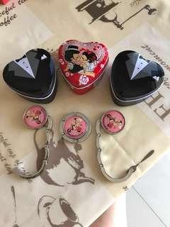 Handbags hanger n jewelry box