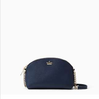 SALE Kate Spade Cameron Street Hilli Crossbody Sling Bag Twilight Navy Dark Blue