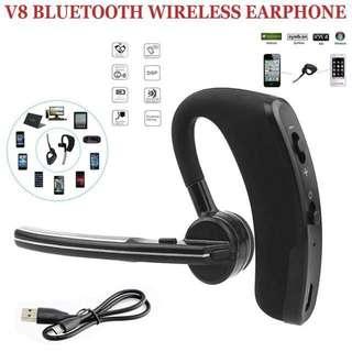突破600好評超特賣!現貨100%New! 性價比之選~簡約V8商務藍牙耳機 Bluetooth Earphone