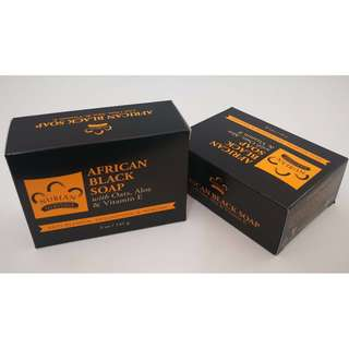 Black African Soap 142g
