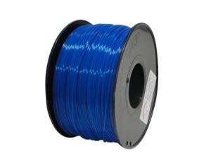 RepRapper 3D Printing Filament PLA Fluorescent Blue 3.0mm (1 kg)