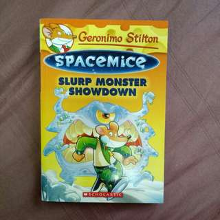 Space Mice No. 9 - Slurp Monster Showdown (Geronimo Stilton)