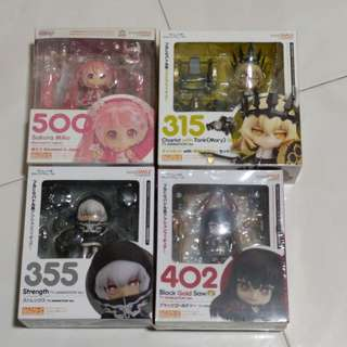 New/Preloved Nendoroids Clearance