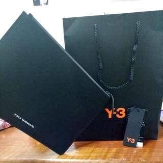 YOHJI YAMAMOTO Y3 LEATHER BAG
