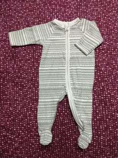 Baby sleepsuit (prem to newborn)