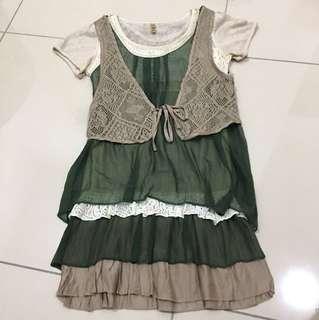[Preloved] 3 in 1 Dress