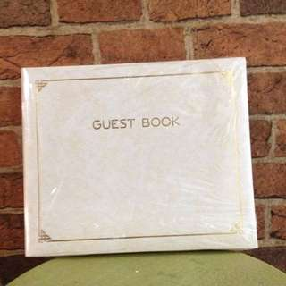 Guestbook Brand New