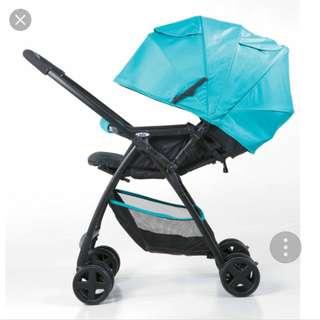 BNIB JOIE stroller float cyan