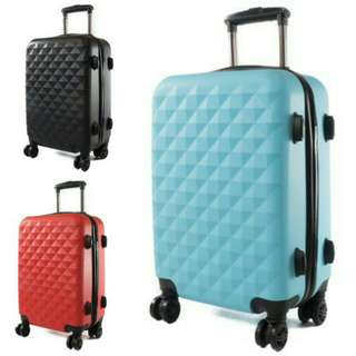 BN FREE DELIVERY Hard Case Spinner Luggage Suitcase