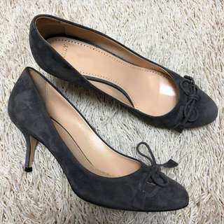 Authentic BALLY Switzerland Suede Pumps