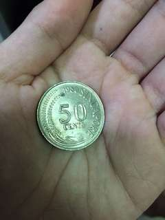 Old Singapore first generation coin