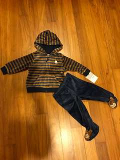 Brand New Carters Spring/Fall Jacket & Pants
