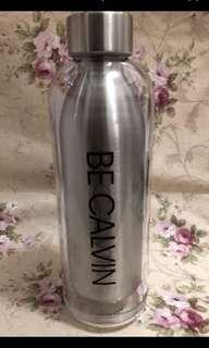 Calvin Klein CK 不鏽鋼 水樽 水壺 保溫瓶 drinking bottle 有盒 非Tiger Thermos 象印 ZOJIRUSHI