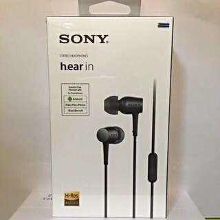 SONY MDR-EX750 IN-EAR HEADPHONES charcoal Black