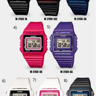 Watch Repair & Casio Digital Watch
