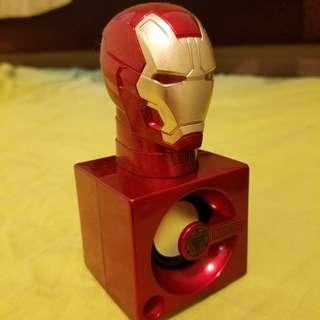 原裝授權 Iron man 3 發光 喇叭