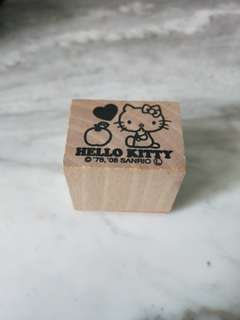 Hello kitty chop
