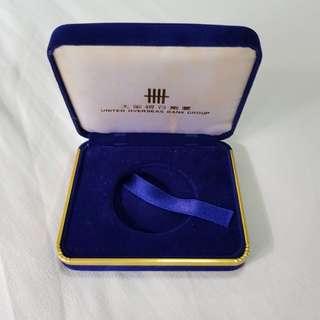 UOB Bank Gold or silver coin case