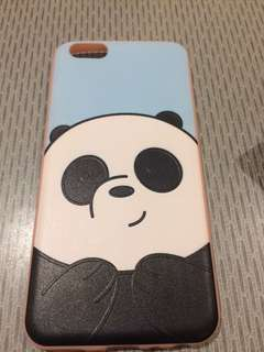 Iphone case (6plus) we bare bears