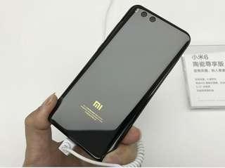 (Xiaomi 小米) Mi 6 (陶瓷尊享版) Ceramic Premium Global Version, 6+128G, Black
