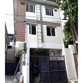 For Sale Brand New 3 Storey Townhouse in F.Roxas St. San Juan City  LAST UNIT AVAILABLE!