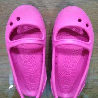 Crocs C7 hot pink