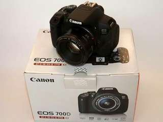 Kamera canon dslr 700D support wifi