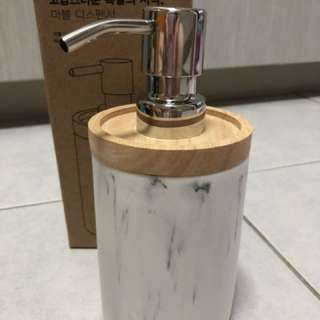 Marble Soap/Lotion Dispenser