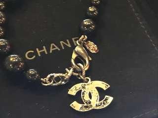 Chanel 黑珠珠手鍊 全新購自法國 保證真品