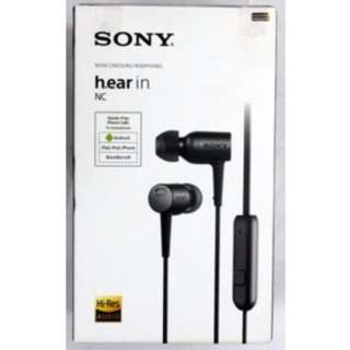 SONY MDR-EX750 IN-EAR HEADPHONES Charcoal Black