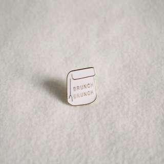 Brunch Bag Enamel Pin