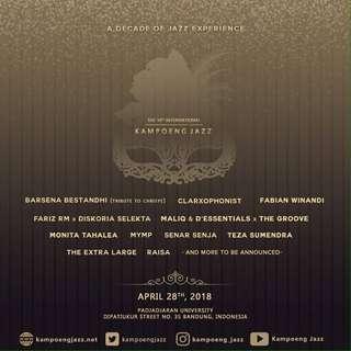 Kampoeng Jazz Tickets