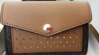 Michael Kors Honey Medium Card Holder Wristlet