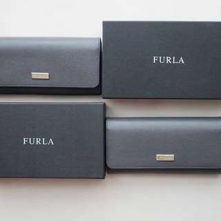 Furla Wallet Flap in Grey