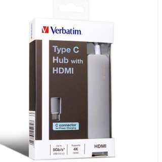 Verbatim Type C hub with HDMI ( esp for mac)
